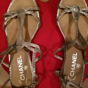 *AUTHENTIC* CHANEL SANDALS